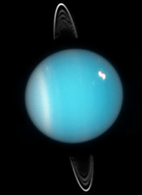Uranus in visible light