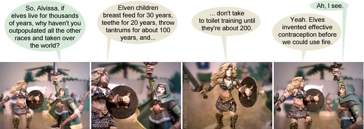 стрипче со елфката и крадецот