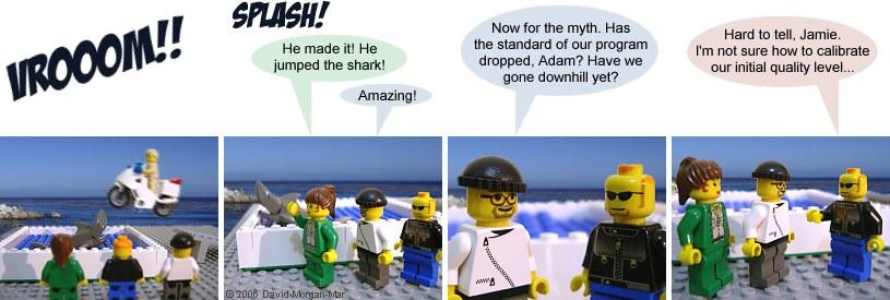 Murdercycles Evel Has Jumped The Shark: Irregular Webcomic! #1093